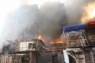 Tragedy as fire consumes family of four in Lagos
