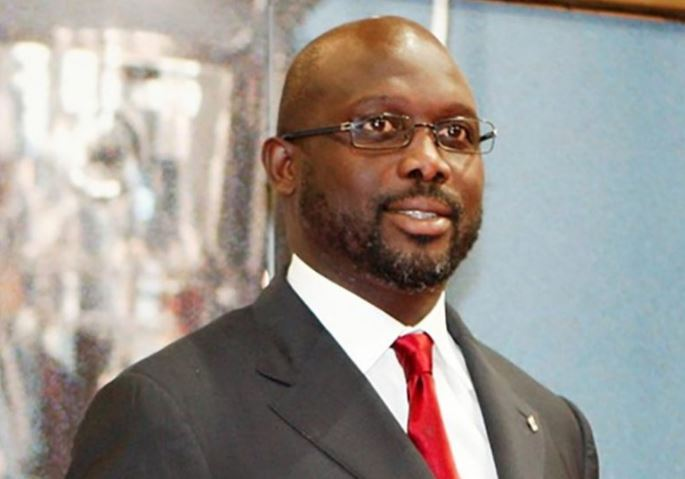 Liberian President, George Weah, Drogba, others for legends match in Lagos