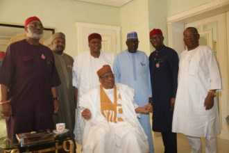 IBB hosts Makarfi, Okowa, others says, 'PDP will have one of the best convention ever'