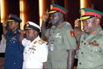 Nigerian Army, Navy, Air Force announce mass promotion of officers (Full List)
