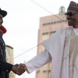 Buhari showers praises on Jonathan, vows to end insurgency soon