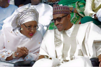 Obasanjo to Aisha Buhari: Engage your hubby in 'pillow talk'