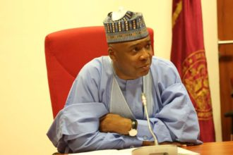 Thugs allegedly attack Saraki's family house, shoot supporters