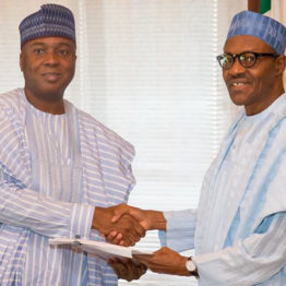 2019: Saraki talks tough, says 'Buhari lacks vision, capacity to lead Nigeria'