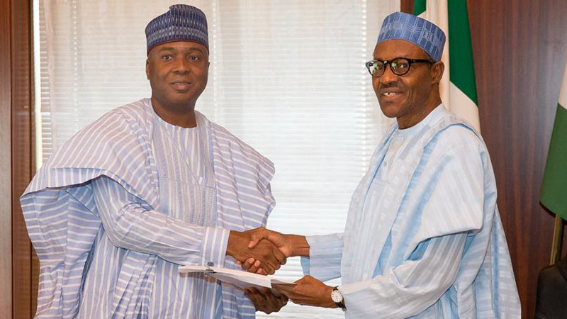 NASS siege: Saraki blows hot, accuses Buhari of injustice, impunity