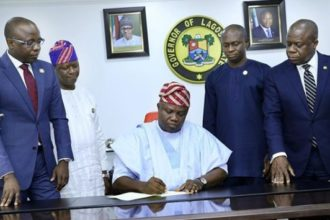 Gov Ambode signs N1.04tr Lagos budget into law
