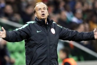 Rohr releases names of 18 players for Liberia friendly