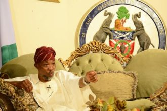 Those protesting against Oyetola's victory are 'mentally unstable' - Aregbesola