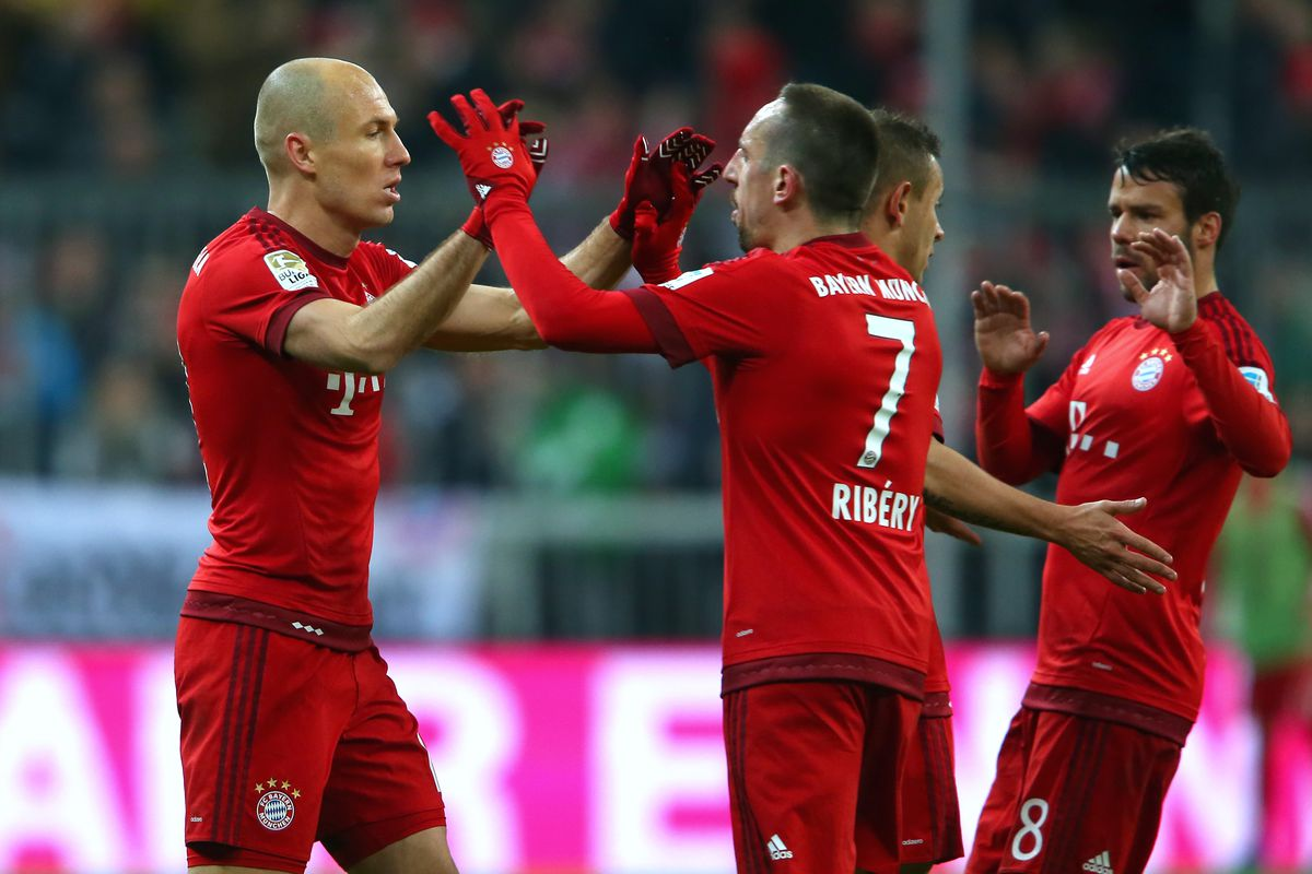 Ribery, Robben sign one-year Bayern extensions - reports