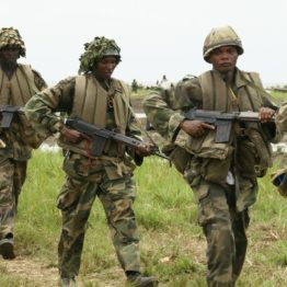 Army parades 13 suspects with links to missing general