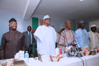 2019: We'll pay for Buhari's nomination form - APC UK