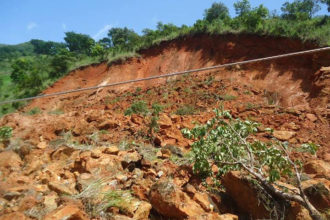 Pandemonium as landslide hits Anambra community