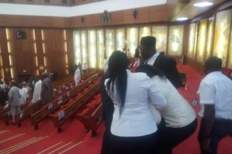 BREAKING: Invasion, hijack of mace by Omo-Agege's thugs an act of treason – Senate