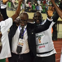 Nigeria has a team for the future, says NFF President