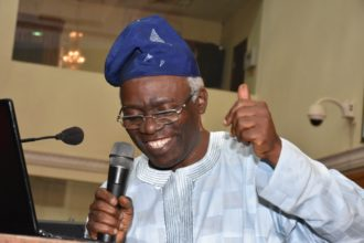 President Buhari congratulates Falana on 60th birthday
