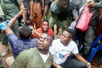 Police arrest thugs, charmers at venue of Ekiti APC primary [Photos]