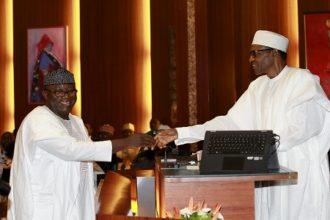 Ekiti 2018: Buhari, others hold valedictory session for Fayemi