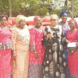 Ramadan: Ajimobi's wife distributes food items to women