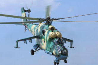 NAF Alpha jet destroys terrorists' gun trucks in Borno
