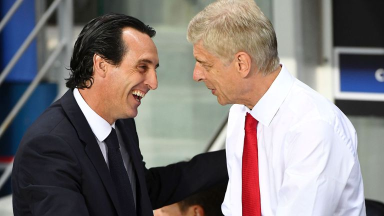 Arsenal were in decline under Wenger, Emery declares