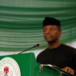 Obasanjo's comment on Trademoni shows ignorance, mischief - Osinbajo