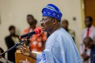 2019: Ajimobi declares for South Senatorial seat in Oyo