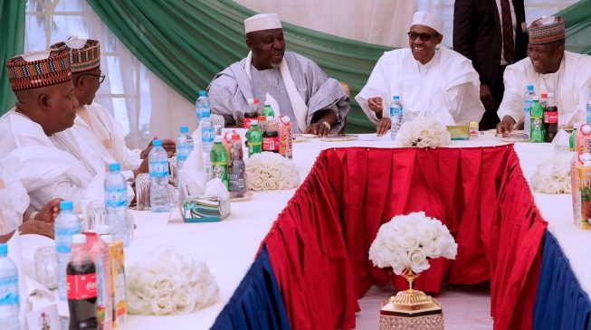 Buhari meets governors, challenges them on infrastructure development