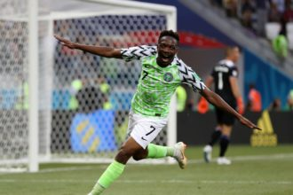 World Cup: Ahmed Musa's 2nd goal against Iceland nominated for goal of the tournament