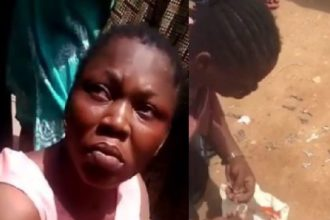 [TRENDING VIDEO] Nollywood actress, Yetunde Akilapa caught stealing in Magodo