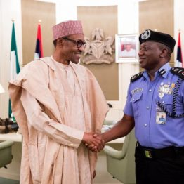 Buhari resumes duties after vacation, meets service chiefs in Aso Rock