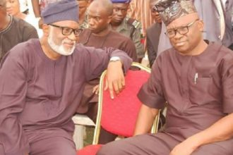 Ekiti guber: Akeredolu blasts Fayose, says 'You smell defeat already'