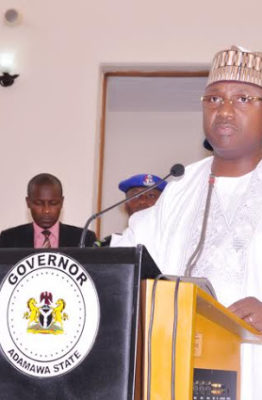 Forgive my shortcomings, Bindow begs Adamawa residents as tenure nears completion