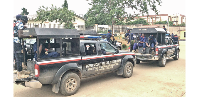 NSCDC arrests five suspected illegal miners in Oyo