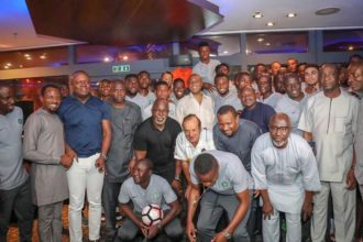 World Cup: Saraki, others to watch Super Eagles match against Iceland