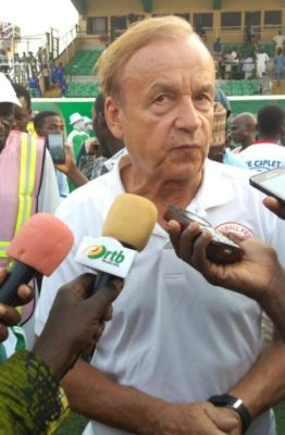 My first favourite to win AFCON is Egypt not Nigeria – Gernot Rohr