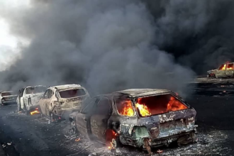 Fire: Buhari expresses sadness, condoles with govt., people of Lagos State