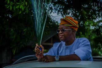 Osun 2018: Tinubu solicits support for APC candidate, Oyetola