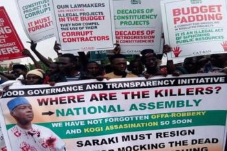 2018 Budget: Protesters Storm N'Assembly