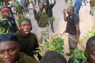 Why police officers protested, blocked highway — Official