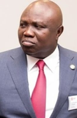Protesters storm Lagos Assembly, demand ex-gov Ambode's probe