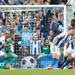 EPL: Brighton beat Manchester United 3-2