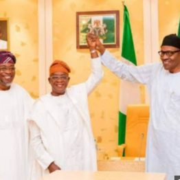 Oyetola, Aregbesola, others predict victory for Buhari, commend INEC