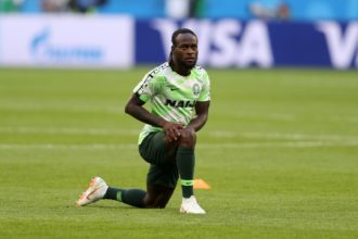 NFF, Rohr 'beg' Victor Moses to reconsider playing for Nigeria