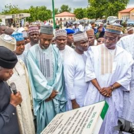 Osinbajo inaugurates N5.9 billion projects in Zamfara