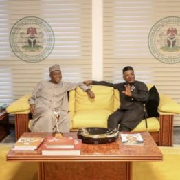 Saraki pays solidarity visit to Gov Udom few days after Akpabio's defection