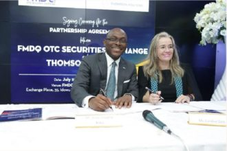 FMDQ partners Reuters to promote Nigerian Financial Market