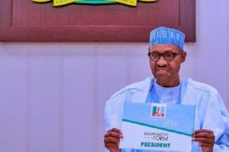 Those challenging my relection desperately wanted third term - Buhari