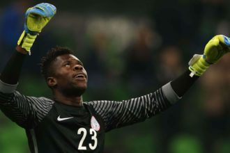Super Eagles goalkeeper Uzoho doubtful for AFCON qualifiers clash