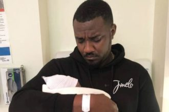 Ghanaian actor, John Dumelo welcomes son after five months of marriage