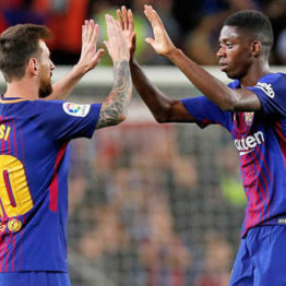 Barcelona bans Dembele from switching off his phone